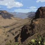 Landscape in Gran Canaria